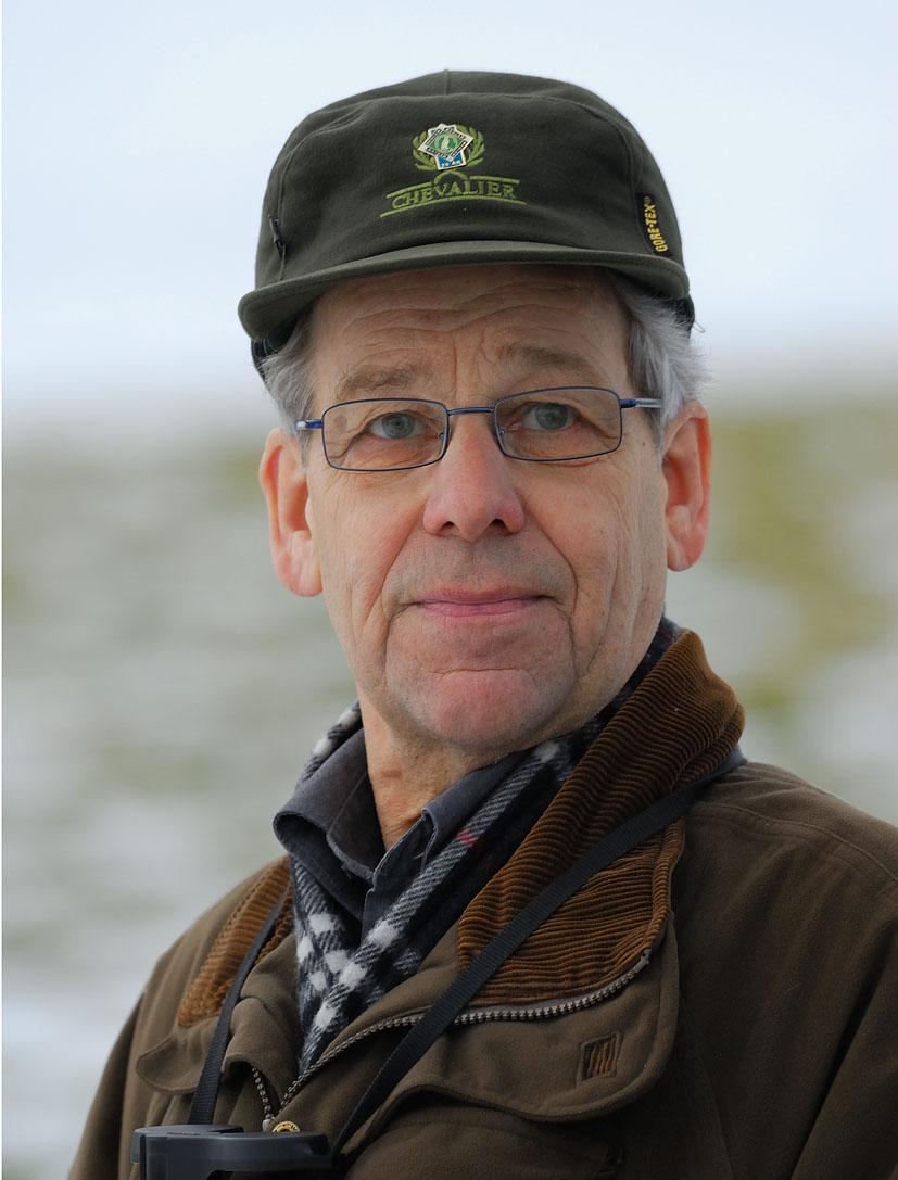 Lennart Fritzon fotad vid Norra Jularp,Aneby Kommun